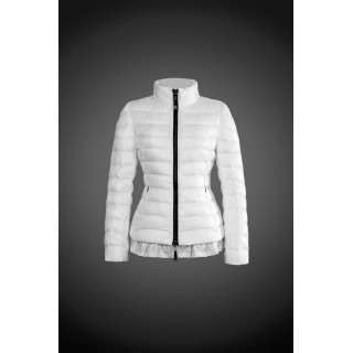 2017 Outlet Piumini Moncler Donna Bianco Acquisto Online