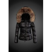 2017 Outlet Piumini Moncler Donna Nero Bologna Outlet