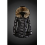 2017 Outlet Piumini Moncler Donna Nero Shop Online