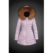 2017 Outlet Piumini Moncler Donna Rosa Outlet Italia