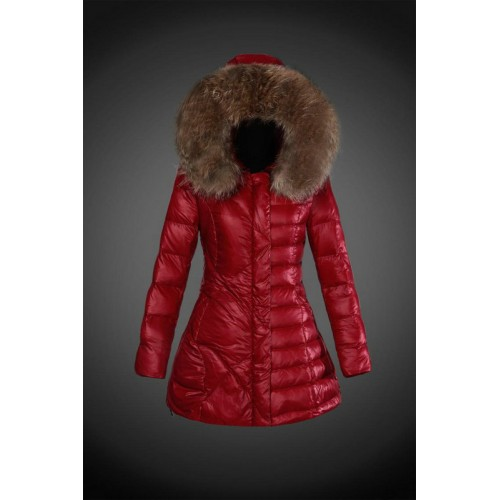 low priced 5bdd0 4d7a3 2017 Outlet Piumini Moncler Donna Rosso Italia
