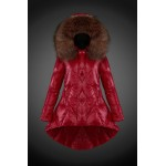 2017 Outlet Piumini Moncler Donna Rosso Sito Ufficiale