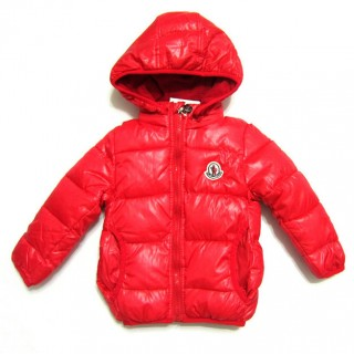 2017 Piumini Moncler Bambini Rosso Online Outlet