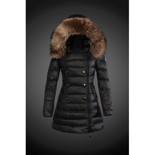 wholesale dealer a592a 5993f 2017 Piumini Moncler Donna Nero Outlet Firenze