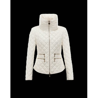 Acquistare Piumini Moncler Nuovo Moncler Guery Donna Beige