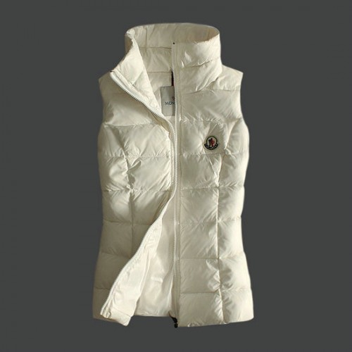 new product 06ee2 689c1 Gilet Moncler Donna Bianco Sito Ufficiale