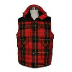 Gilet Moncler Nuovo Liberation Stile A Strisce Rosso Outlet Bologna