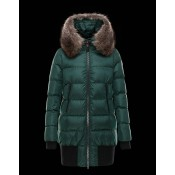 Moncler Donna Anglas Verde Vendita On Line