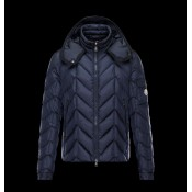 Moncler Uomo Berriat Scuro Blu Stili Delicati
