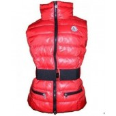 Nuovo Stile Gilet Moncler Nuovo Gaelle Rosso