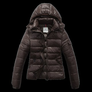 Online Piumini Moncler Bady Brown D02