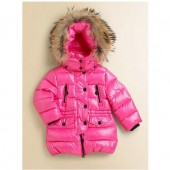 Outlet Piumini Moncler Bambini Rosso