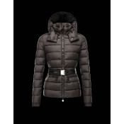 Piumini Moncler Angers Donna Brown Outlet Milano