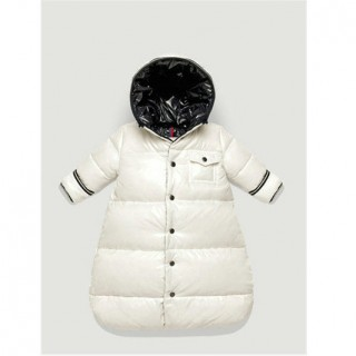 Piumini Moncler Bambini Bianco Outlet Online