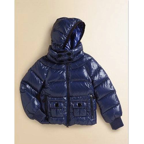 premium selection b3ab1 63eed Piumini Moncler Bambini Blu Outlet Milano
