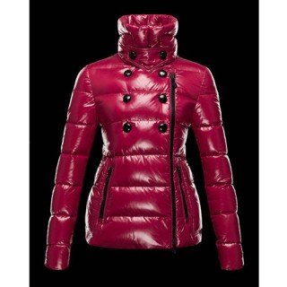Piumini Moncler Donna Daim Rosso Outlet Online