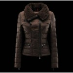 Piumini Moncler Donna Frene Marrone Italia On-Line