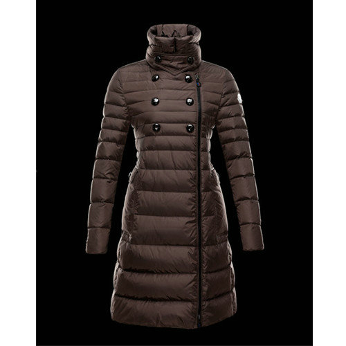 huge discount 18b22 968b8 Piumini Moncler Donna Herisson Marrone Negozi Roma