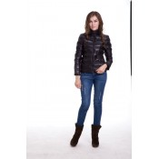 Piumini Moncler Donna Luce Nero Outlet Online