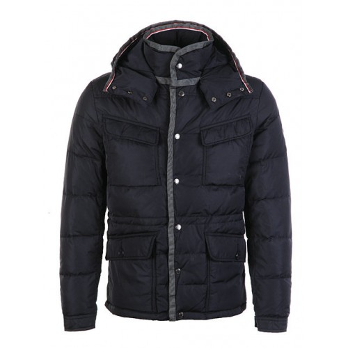 official photos b91a5 94ec8 Piumini Moncler Millais Blu Sconto Prezzo