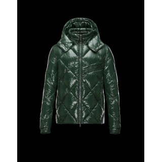 Piumini Moncler Newman Uomo Verde Outlet Online