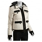 Piumini Moncler Nuovo Donna Beige Outlet Milano