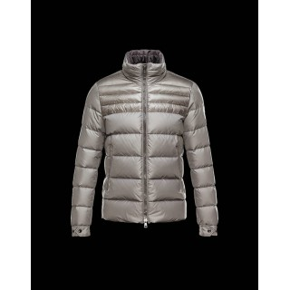 Piumini Moncler Nuovo Moncler Dinant Uomo Beige Outlet Pizza
