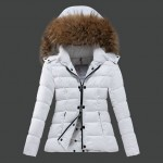 Piumini Moncler Nuovo Moncler Donna Bianco Italia On-Line