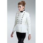 Piumini Moncler Nuovo Moncler Donna Bianco Outlet Italia