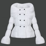 Piumini Moncler Nuovo Moncler Donna Bianco Outlet Milano