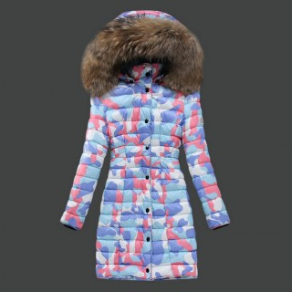 new concept 8cf44 936d1 Piumini Moncler Nuovo Moncler Donna Lungo Colorful Classico ...