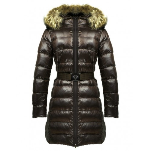 new products 56d50 6eb2d Piumini Moncler Nuovo Moncler Donna Lungo Marrone Nuova ...