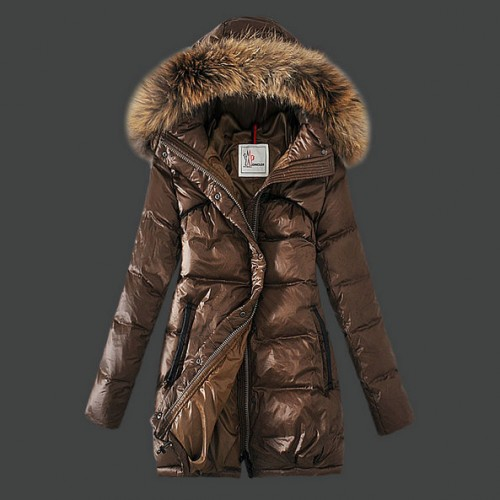 wholesale dealer d7975 68a99 Piumini Moncler Nuovo Moncler Donna Lungo Marrone Store Locator
