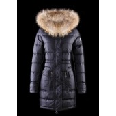 Piumini Moncler Nuovo Moncler Donna Lungo Navy Online Outlet