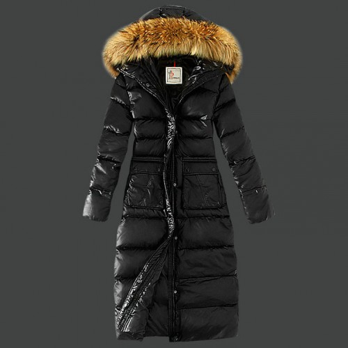 best authentic 87204 a0883 Piumini Moncler Nuovo Moncler Donna Lungo Nero Pizza