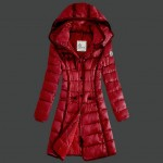 Piumini Moncler Nuovo Moncler Donna Lungo Rosso Online Shop Italia