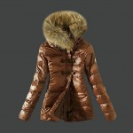 Piumini Moncler Nuovo Moncler Donna Marrone On Line