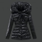 Piumini Moncler Nuovo Moncler Donna Nero Outlet Online