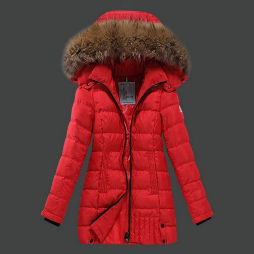 moncler donna rosso