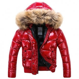 Piumini Moncler Nuovo Moncler Donna Rosso Outlet