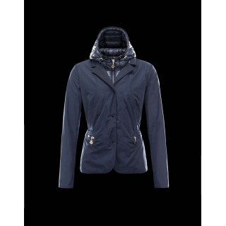 Piumini Moncler Nuovo Moncler Lime Donna Blu Outlet Toscana