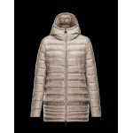 Piumini Moncler Nuovo Moncler Narlay Donna Beige Outlet Sicilia