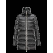 Piumini Moncler Nuovo Moncler Torcy Donna Grigio Scuro Online Outlet