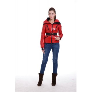 Piumini Moncler Ski Rosso Online Outlet