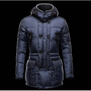 Piumini Moncler Uomo Mathias Blu Outlet Pizza